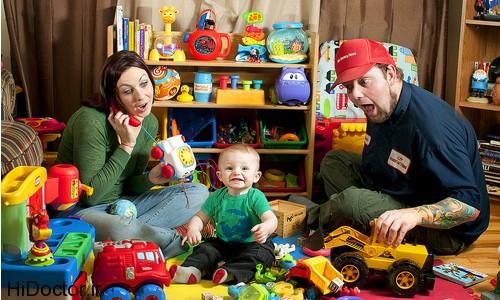 بازی های خانگی برای کودکان