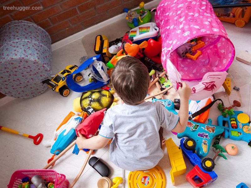 اسباب بازی در تربیت کودک