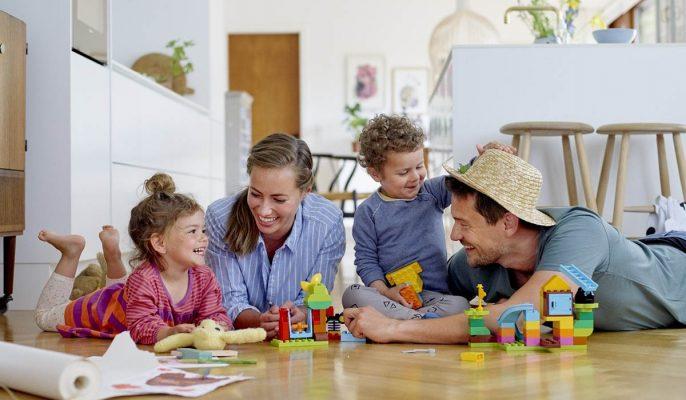 تعامل مثبت والد و کودک